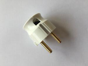 kleiner Mini Stecker mit seitlichem Kabelausgang - ideal bei wenig Platz