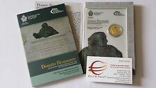 coffret folder 2 euro SAINT MARIN San Marino 2014 500 ans mort BRAMANTE Lazzari