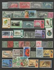 Small Collection of  Gibraltar  Stamps  Mixed Condition All Stamps 2 Pictures