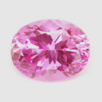 28.63ct Unheated Pink SAPPHIRE 15x20MM OVAL SHAPE AAAAA+ COLOR LOOSE GEMSTONE