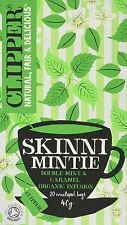 Clipper Tea Bags Skinni Mintie Organic Infusion 35g 20 Bags