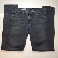 AG Adriano Goldschmied Women 30 The Stilt Cigarette Leg Dark Wash Skinny Jeans