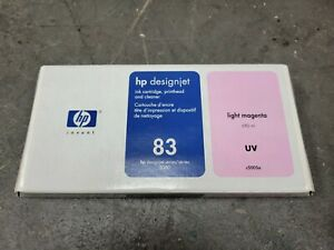 HP C4965A Genuine Printhead and Cleaner HP 83 Light Magenta in Box 2011 Exp