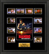 Rambo First Blood Part 2 (1985) Film Cell Memorabilia FilmCells Movie Cell