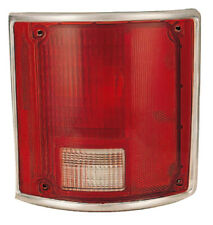 Tail Light Lens for 78-91 Chevy/GMC Blazer/Suburban (w/Chrome) Passenger Right