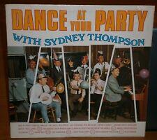 SYDNEY THOMPSON DANCE AT YOUR PARTY 1969 PDR 2 SYDNEY THOMPSON DANCE RECORDS LP
