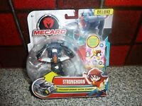 MECARD STRONGHORN DELUXE TOY FIGURE ACTION BATTLE GAME MATTEL NEW SEALED
