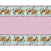 Spirit Riding Free Plastic Table Cover~Girls Birthday Party Supplies Decoration