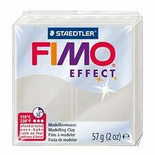 Staedtler fimo Effect 8020-014 - Argilla 57g Bianco traslucido