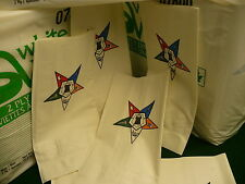 400 napkins 2 packages Eastern Star OES luncheon dinner banquet serviettes