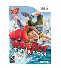 Wipeout: Create & Crash (Nintendo Wii, 2013) VERY GOOD
