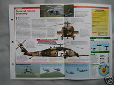 Aircraft of the World Card 56 , Group 3 - Sikorsky MH-60 Pave Hawk