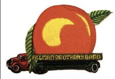Allman Brothers Eat A Peach Truck Embroidered Patch A017P Government Mule Skynrd