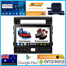 -Android Interface 10 GPS Bluetooth Stereo Cam For Toyota Landcruiser 200 Series