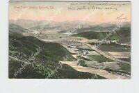 PPC POSTCARD CALIFORNIA REDLANDS FROM SMILEY HEIGHTS 1906 POSTMARK