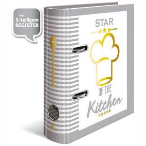 HERMA Rezeptordner DIN A5 mit Register -Star of the Kitchen-