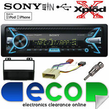 Ford fiesta 02-05 MK5 Sony 55x4 W CD MP3 USB Bluetooth estéreo de coche & KIT FASCIA