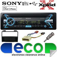 Ford Fiesta 02-05 MK5 Sony 55x4 W CD MP3 USB Bluetooth Car Stereo & Fascia Kit