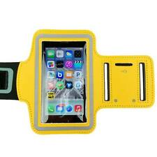 Yellow Sports Armband Running Gym Exercise Case for Apple iPhone SE 5S 5C 5 4S