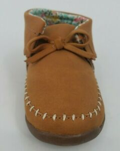 Carter's Every Step Girls' Gilly-WG, Fashion Booties-Brown, Toddlers' Size 6