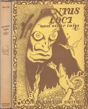 Genius Loci and Other Tales Clark Ashton Smith Arkham House First Edition 1948