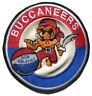 "1967-68 NEW ORLEANS BUCCANEERS ABA BASKETBALL HARDWOOD CLASSICS 4.25"" LOGO PATCH"