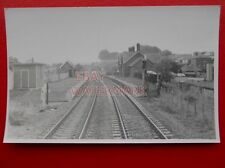 PHOTO  RAYOUKY? RAILWAY SATION FROM NORTH 6/6/84 VIEW FROM CAB
