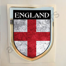 England Sticker Resin Domed Stickers Flag Grunge 3D Adhesive Decal Gel Car Moto
