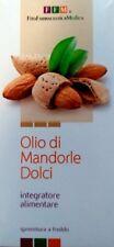 OLIO di MANDORLE DOLCI 250 ml. Smagliature, antiossidante, stitichezza, vit.E