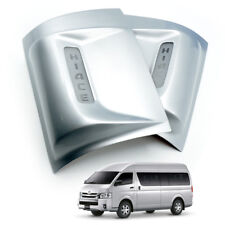 Fits Toyota Hiace Commuter 05 2018 Led Corner Rear Under Tail Light Cover Silver