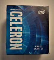 Intel Celeron G3930 Dual-Core Kaby Lake Processor Socket LGA 1151 with Heatsink!