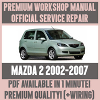 WORKSHOP MANUAL SERVICE & REPAIR GUIDE for MAZDA 2 2002-2007 +WIRING