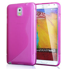 Premium Soft Back Case Flexible TPU Cover Films for Samsung Galaxy Note 3 N9000