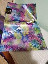 Purple Multi color SAGO gele  2 in 1 pack of pack Nigerian head wrap. Easy to ma