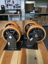 """Casters Extra Heavy Duty Polyurethane Wheel 8"""" x 3"""""""