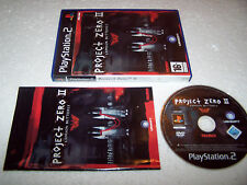 PROJECT ZERO 2 II - Playstation 2 PS2 - UK PAL - VG COND