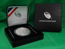 2016 American Silver Eagle in US Mint Gift Box, US Mint Capsule, & Velvet Case