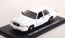 1:43 Greenlight Ford Crown Victoria Police Interceptor white