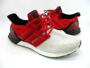 Adidas Ultra Boost Red/ White/ Black Mens Sneakers Size 12