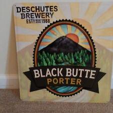 NEW DESCHUTES BLACK BUTTE PORTER METAL BEER SIGN