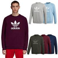 adidas Originals Trefoil Crew Outline Herren Sweatshirt Pullover Sweater