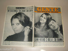 GENTE 1967/3=GIANNI MORANDI=SOPHIA LOREN=GIGLIOLA CINQUETTI=SIGMUND FREUD=