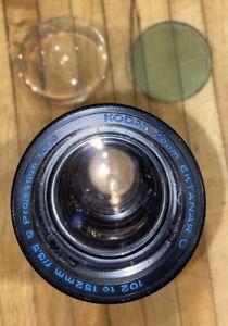 Kodak Projection Ektanar C Lens 102-152mm f/3.5 + Internal Lens Condenser Set