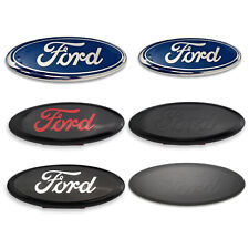For 2005-2014 Ford F150 F250 F350 Front Grille/Tailgate 7/9 inch Oval Emblem 1pc
