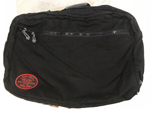 RED OXX of Montana SKY TRAIN Hybrid DUFFEL BAG / BACKPACK in Black Nylon NICE!