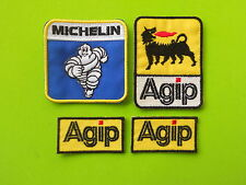 AGIP MICHELIN PATCH KIT 4 TOPPE RICAMATE TERMOADESIVE