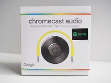 Google chromecast audio media streamer - fully working, boxed, good condition