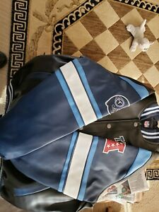 Tennessee Titans faux leather jacket size extra large brand new g3 brand