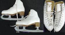Ice Figure Skates Risport Laser with Mk Club 2000 blades Size 225 Us 2.5 3