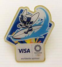 Brand New Visa Tokyo 2020 olympic surf pins